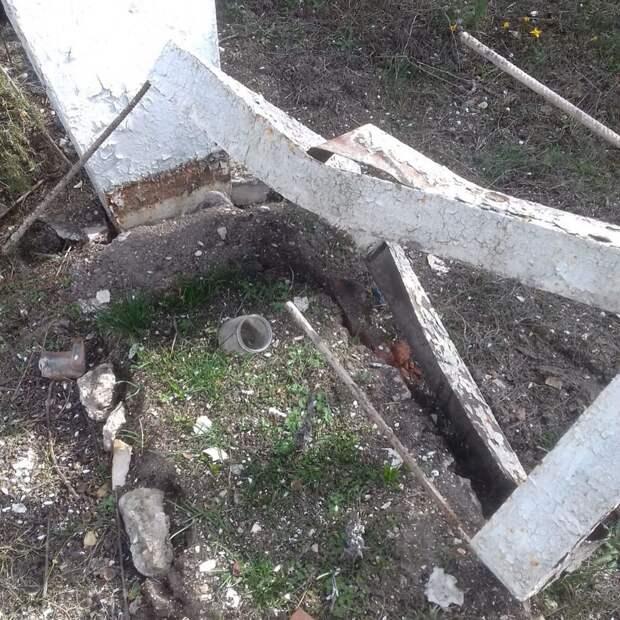Задержан подозреваемый в разорении могилы солдата в Севастополе