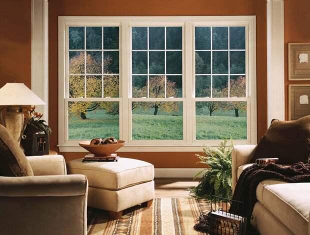В Америке по аналогии с Великобританией устанавливаются окна типа слайдеры / Фото: cpykami.ru