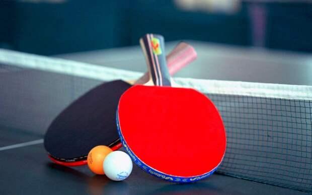 В парке «Ангарские пруды» площадки для настольного тенниса открыты круглый год