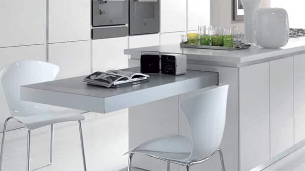 Что еще можно встроить на кухне кроме техники. Эргономика кухни. Часть 1
