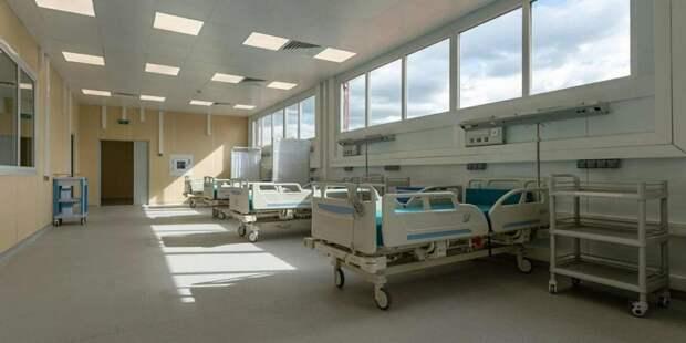 Собянин рассказал о временных медкорпусах при ГКБ для больных COVID-19
