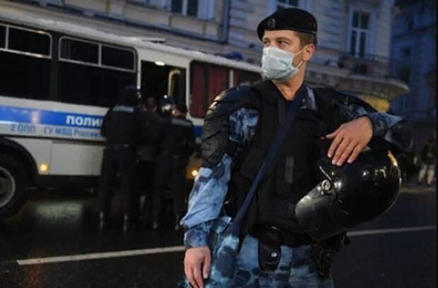Полиция задержала 30 участников беспорядков в Москве
