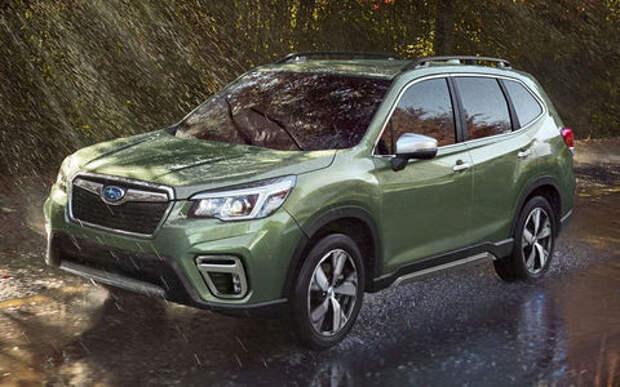 Subaru от падения продаж хранит полный привод