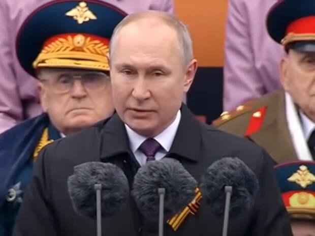 Welt: Путин продемонстрировал на Параде Победы главный козырь