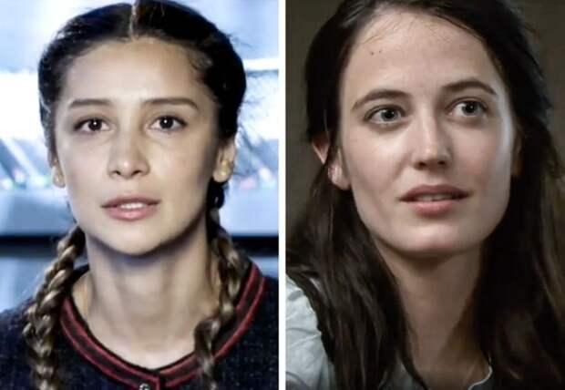 Звезды: Равшана Куркова и Ева Грин
