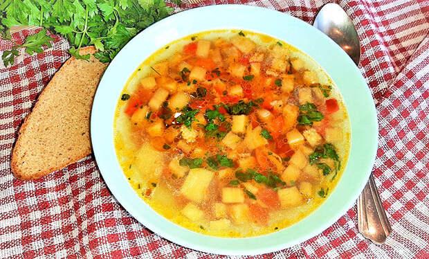 Невероятно вкусный суп с баклажанами! Жалею, что не готовила такой супраньше!
