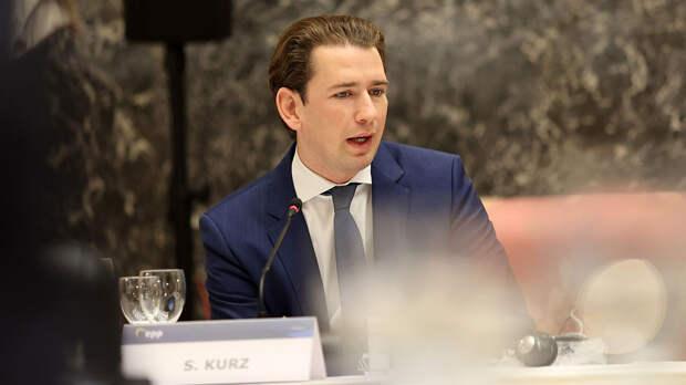 """Канцлер Австрии Курц назвал """"большой честью"""" возможность провести саммит Путина и Байдена"""