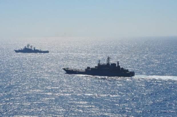 Черноморский флот показал авианосной группе США у Сирии всю мощь