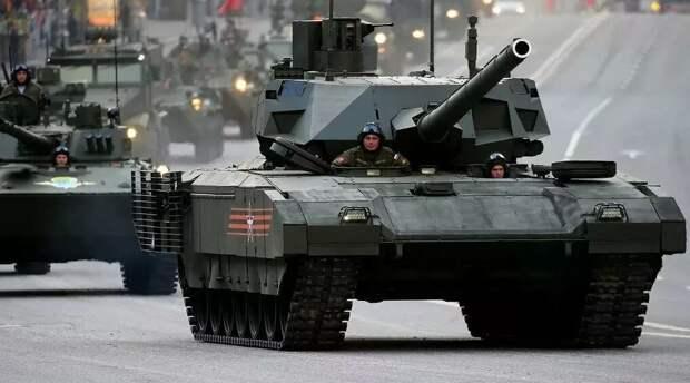 Утерли нос всем! Российскому танку «Армата» не нашлось равных в мире