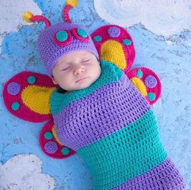 красивое вязание для самых маленьких