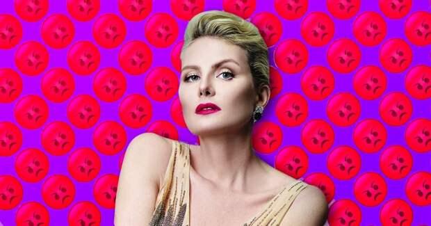 Рената Литвинова пообещала сломать продюсеру руку, если ей не выплатят гонорар