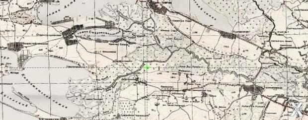 Карта 1936 года