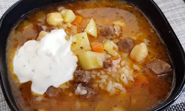 Варим суп с мясом 30 минут: ленивая еда сразу на 3 дня