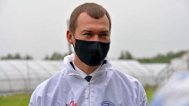 Дегтярев рассказал о своих планах на посту главы Хабаровского края