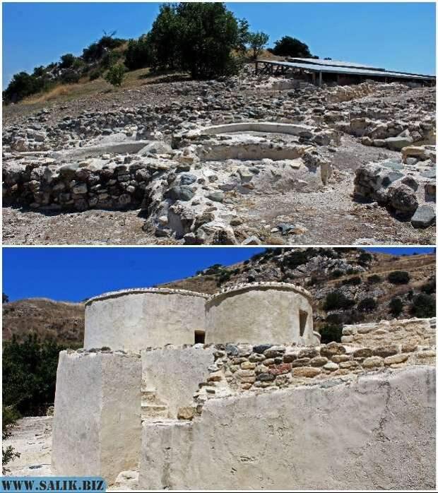 Неолитическое поселение Khirokitia – объект Всемирного наследия ЮНЕСКО (Кипр).