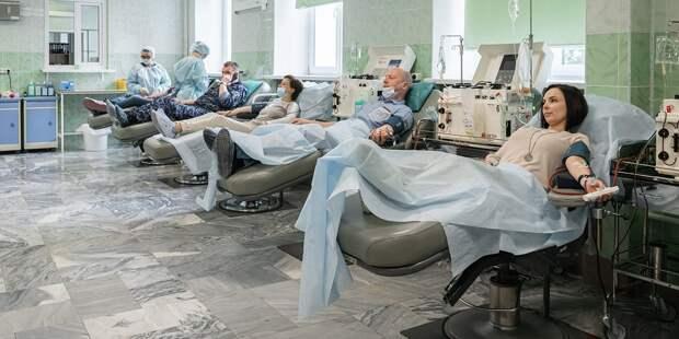 37 человек стали донорами костного мозга в Новом Зыковском проезде