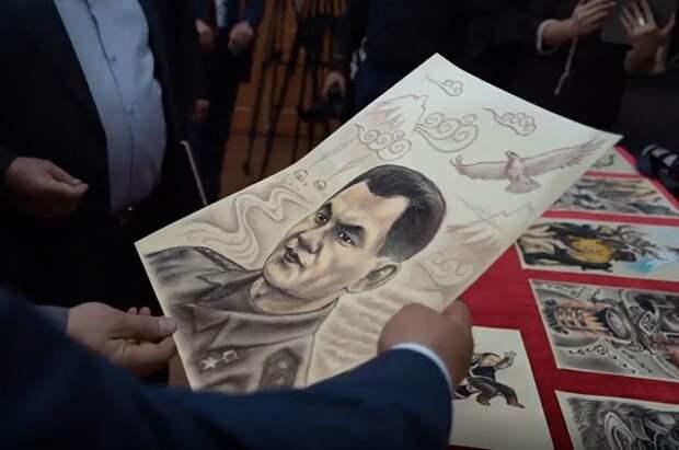 В Тыве презентовали книгу о «сыне Хур-Кужугета» — богатыре в образе Сергея Шойгу