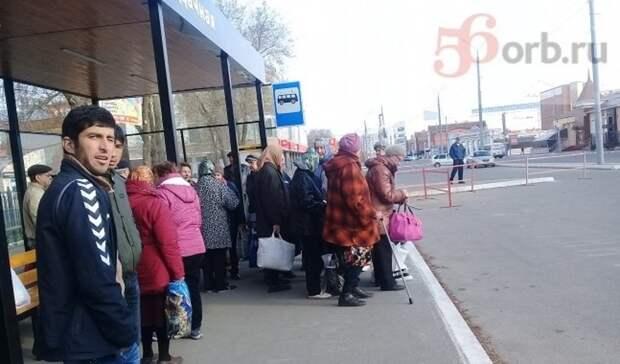 Оренбуржцы бунтуют противмногочасового ожидания дачных автобусов