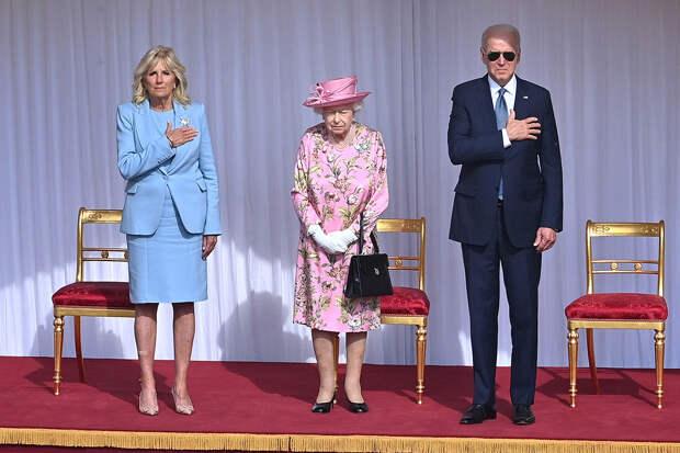 Джо Байден и Елизавета II