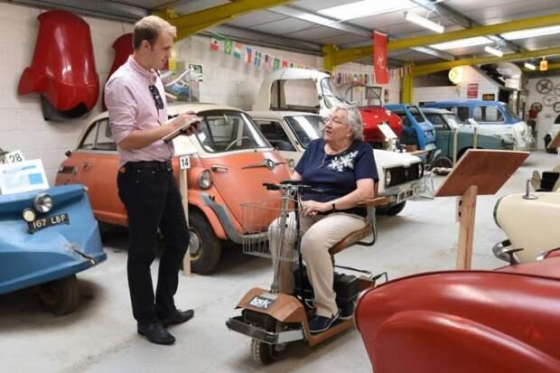 Музей микроавтомобилей в британской глубинке автомузей, музей