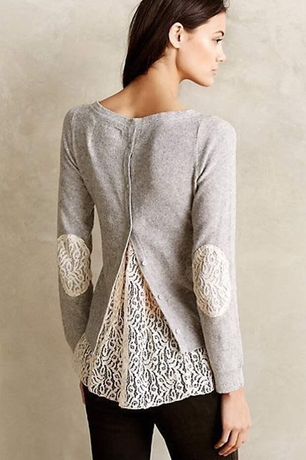 Пора пересмотреть гардероб: уникальные идеи по переделки свитера