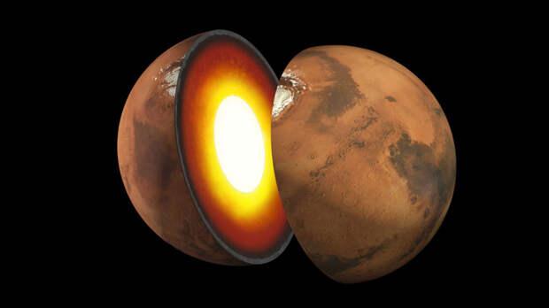Учёные впервые измерили ядро Марса