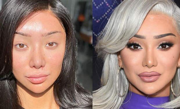 5 девушек показали себя без макияжа: их не узнали друзья