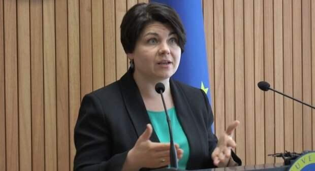 Премьер Молдавии отказалась выплачивать России долг за газ