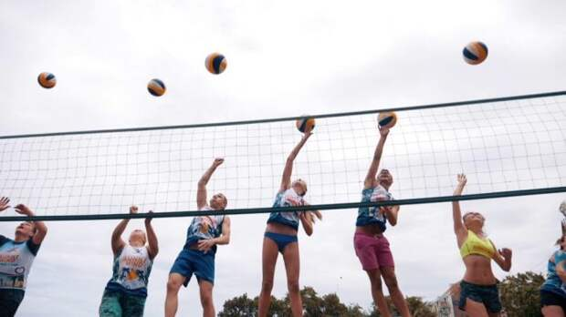 Что такое волейбольный кэмп