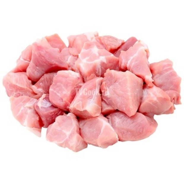 Тушеная свинина в мультиварке