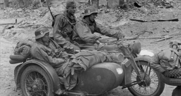 Потери мотоциклистов «Лейбштандарта СС «Адольф Гитлер» в 41-м году