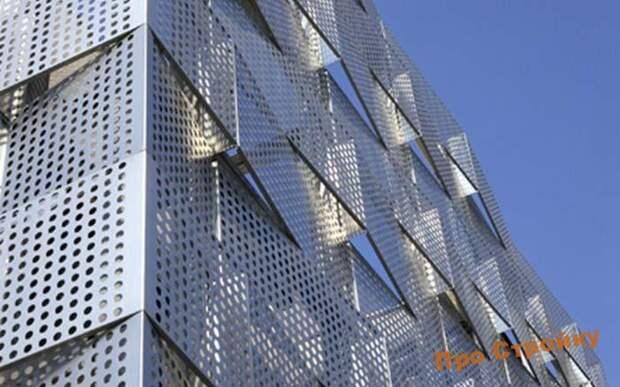 Картинки по запросу Растет популярность фасадов из решетчатого настила
