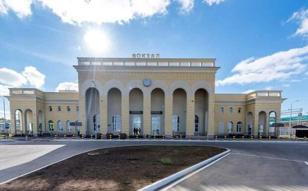 Открыт вокзал Керчь-Южная