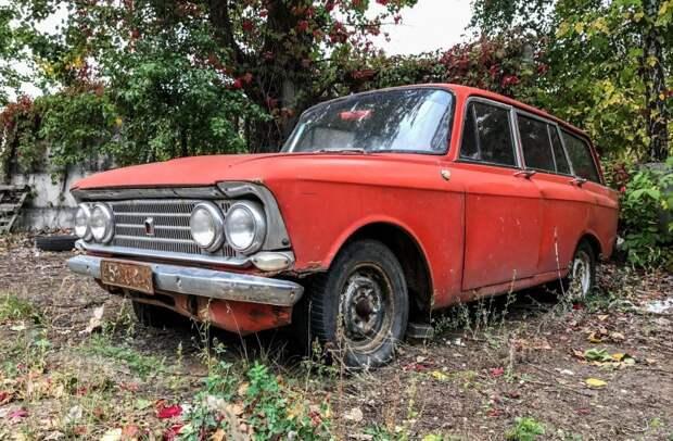 """Редчайший праворульный """"Москвич"""", который хотели сдать на металлолом авто, азлк, москвич, находка, олдтаймер, правый руль, ретро авто, универсал"""