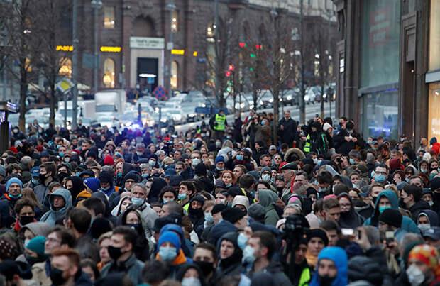 Как в России прошли акции в поддержку Алексея Навального