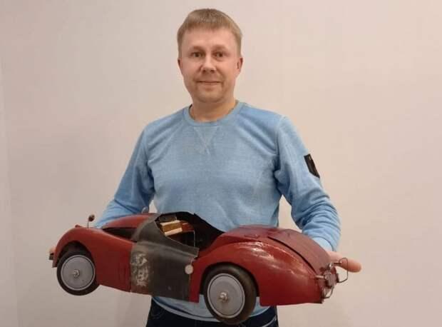 Cамоучка из Митина создает копии раритетных авто