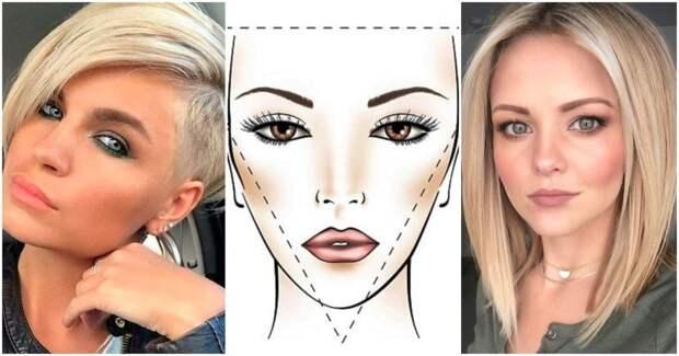 Идеальная стрижка для разных форм лица: подбираем за пару минут