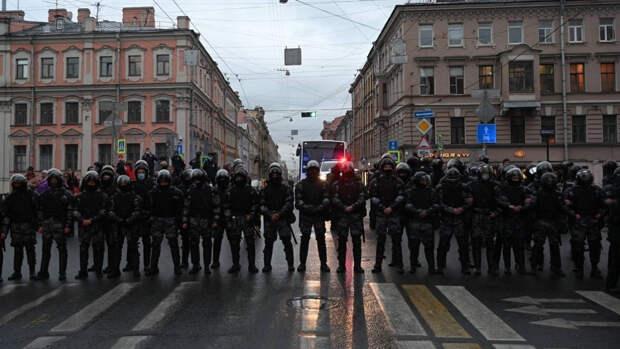 Правозащитники не зафиксировали в Москве массовых задержаний в ходе незаконных акций