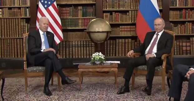 Психолог Зберовский оценил невербальные сигналы Путина и Байдена на встрече в Женеве