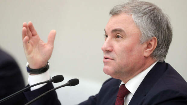 Володин заявил о готовности Думы обсуждать уход от анонимности в интернете