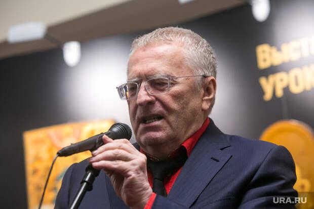 Жириновский торжественно закрыл шоу «Вечерний Ургант»