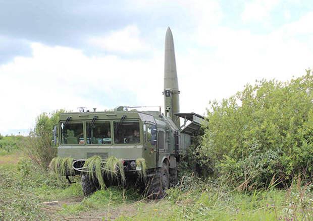 В Калининградской области прошли учения «Искандеров»