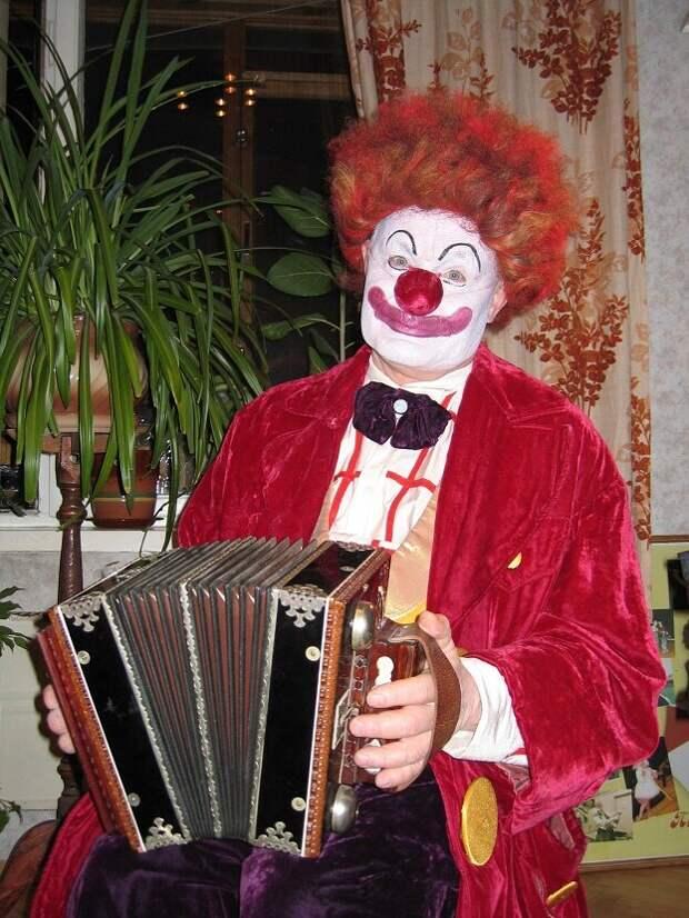 Клоун Клёпа. dovganvitaly.wordpress.com