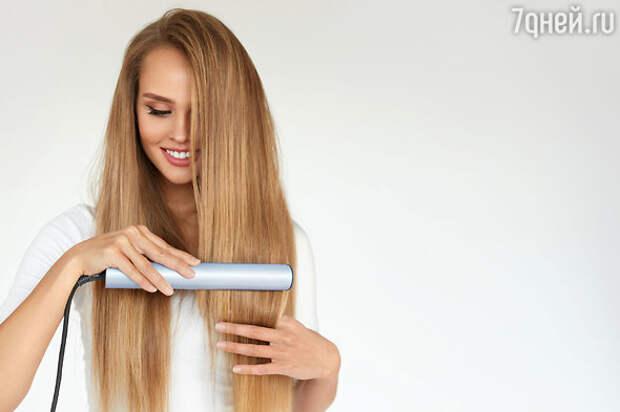 Как уложить длинные волосы?
