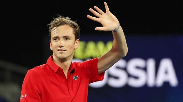 Медведев обыграл Шварцмана и принес сборной России победу над Аргентиной на ATP Cup