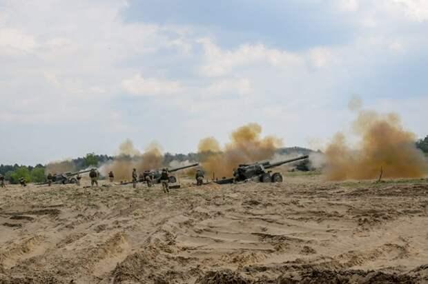 Артиллеристы ВСУ участвуют в учениях в Польше