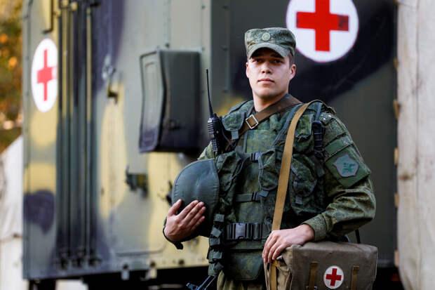 Более 250 жителей Мардакерта получили медпомощь от российских военных врачей