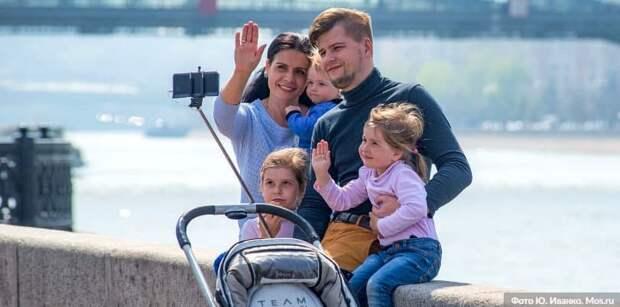 Собянин увеличил предельный возраст получателей допвыплаты при рождении ребёнка.Фото: Ю. Иванко mos.ru
