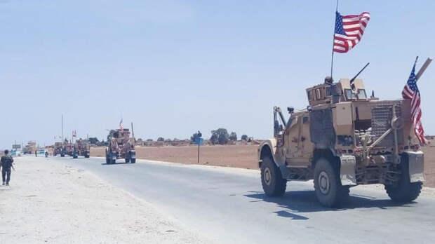 Фото инцидента в Сирии, где российские военные не пустили технику США