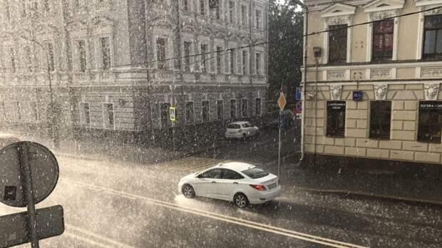 Почти 60% месячной нормы осадков выпало в Москве 8 мая